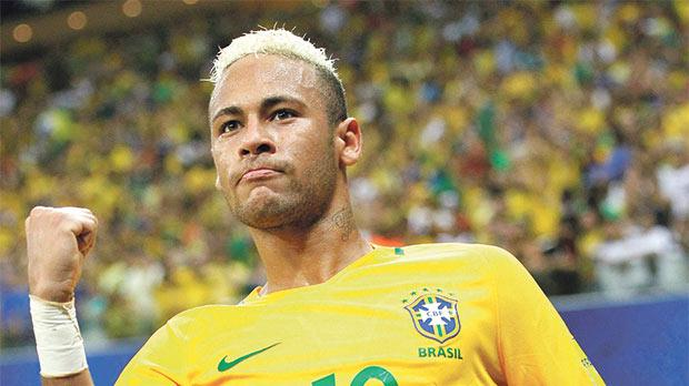 Neymar scores as Brazil march on, Uruguay go top