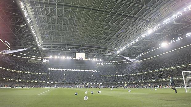 Stadium roof to be closed for Champions League final