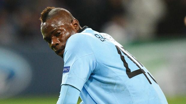 Mario Balotelli... few goals for Manchester City this season.