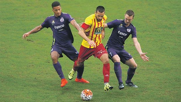 Birkirkara and St Andrews meet in the FA Trophy tonight only nine days after their 1-1 draw in the league. Photo: Darrin Zammit Lupi