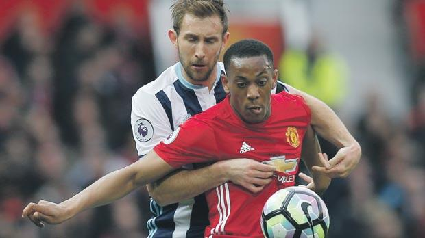 Anthony Martial must improve his performances according to Man. United manager Jose Mourinho.