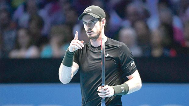 Andy Murray... 'no.1 spot talk conspicuous by its absence'.