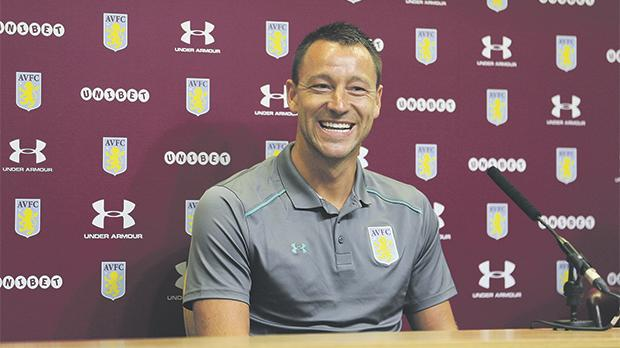 John Terry signs one-year deal with Aston Villa after leaving Chelsea
