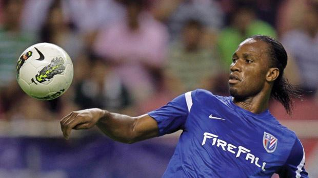Drogba Strikes Twice For Shenhua - modernghana.com