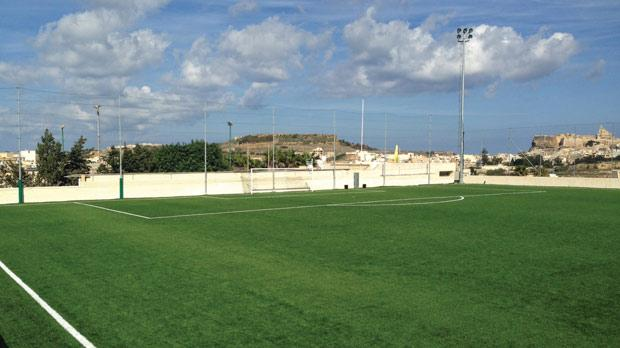 The regional stadium in Kerċem, Gozo