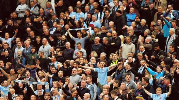 Merely booing a few seconds of music, a symbol of an organisation Manchester City fans don't like, is well within their rights in a democratic country, and to suggest otherwise is ludicrous. Photo: Reuters/Jason Cairnduff