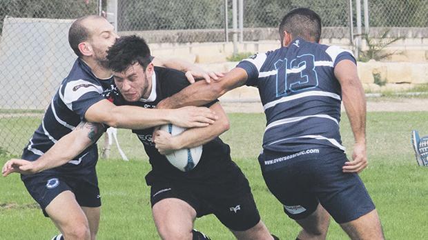 Overseas edged Kavallieri in a tight match. Photo: Ian Stilon