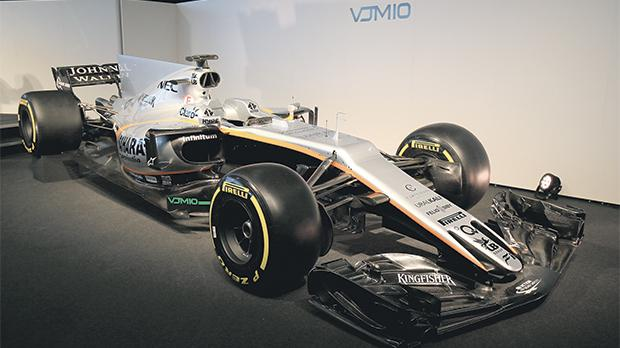 The new VJM10 Force India was unveiled yesterday ahead of the new season which starts next month.