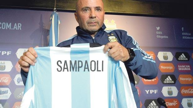 Argentina Unveiled Jorge Sampaoli As New Manager