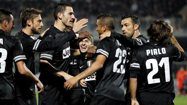 Juventus returned to winning ways with a 6-1 thrashing of Pescara last night.