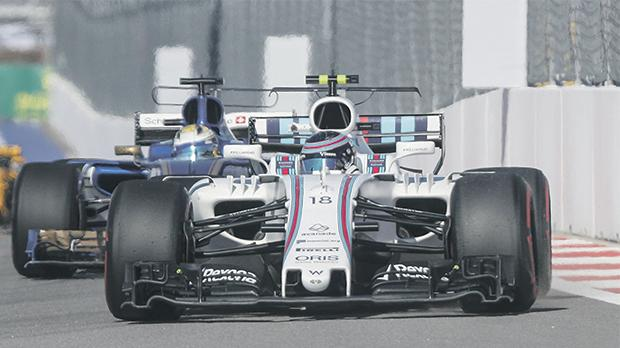 Canadian driver Lance Stroll is struggling to leave his mark at Williams this season.