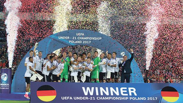 Mitchell Weiser earns Germany Under-21s Euro 2017 glory