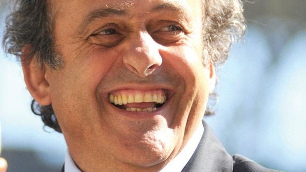 Michel Platini concerned by Euro 2012 prepations in Ukraine.