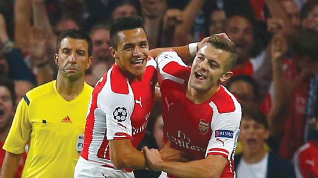 Image result for jack wilshere and alexis sanchez