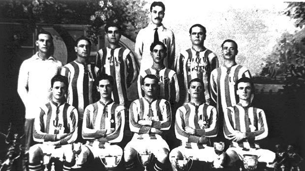 Floriana FC, 1920-21 league champions.
