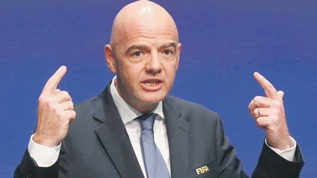 Gianni Infantino's idea of expanding the World Cup to 48 teams will eventually make it less attractive according to sponsorship expert Patrick Nally.