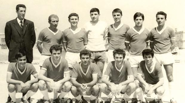 Msida St Joseph's 1966-67 Division Two championship winners.