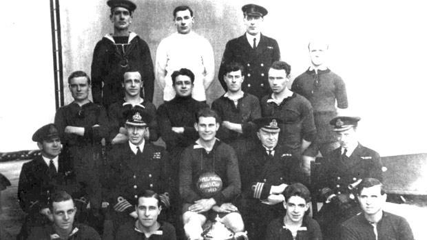 HMS Iron Duke lost 0-2 against Floriana in the 1922/23 Cassar Cup semi-final.