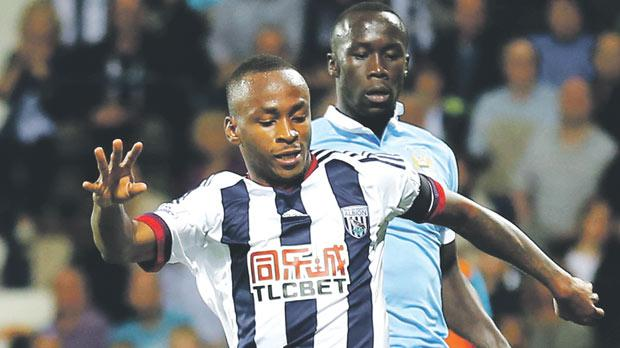 Berahino Reports Back For West Brom Training