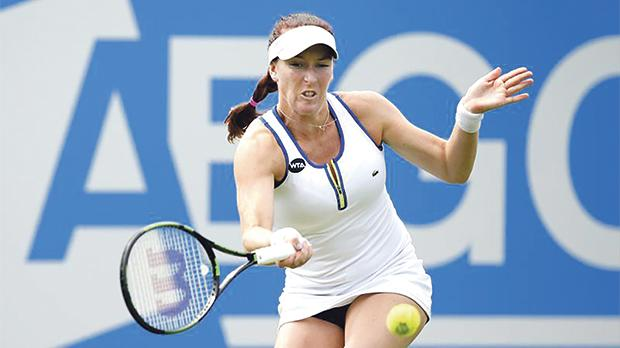 Madison Brengle caused an upset at the Auckland Classic after beating Serena Williams.