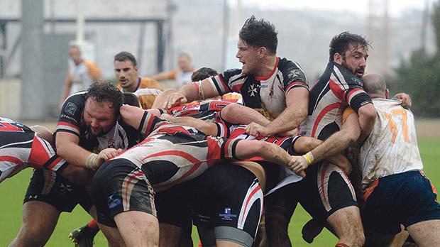 The Maltese rugby team play against the Czech Republic in a promotion play-off on Saturday.
