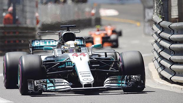 Lewis Hamilton has a lot of work to do to recover lost ground on Ferrari's Sebastian Vettel.