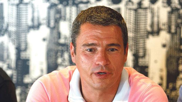 Gżira United coach Branko Nisevic. Photo:Darrin Zammit Lupi