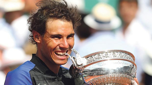 Rafael Nadal Defeats Wawrinka to win 10th French Open Title
