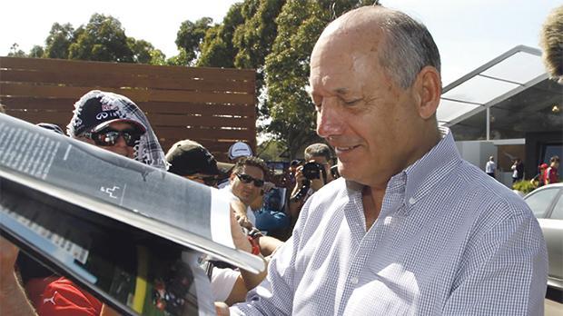 McLaren chairman Ron Dennis