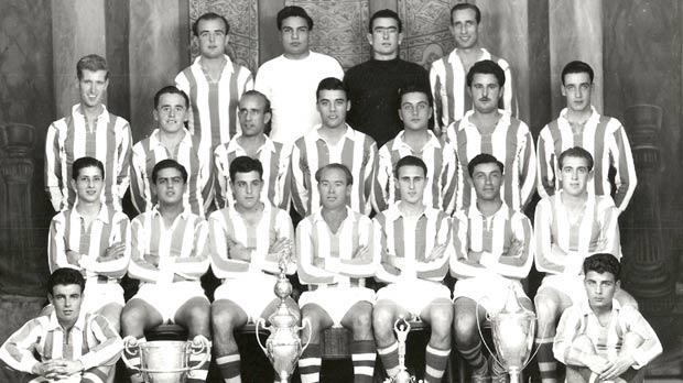 Floriana FC 1952-53 – league champions and FA Trophy and Cassar Cup winners.
