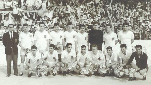 Valletta FC 1962-63 league champions.