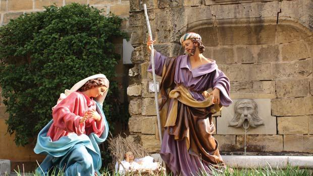 Christmas Nativity Scene Outdoor