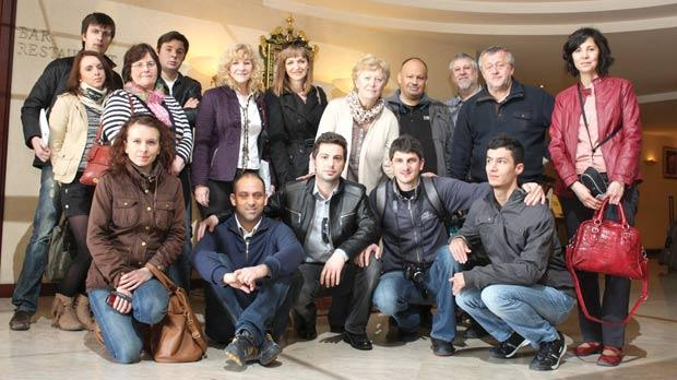 Grundtvig participants who met in Gozo.