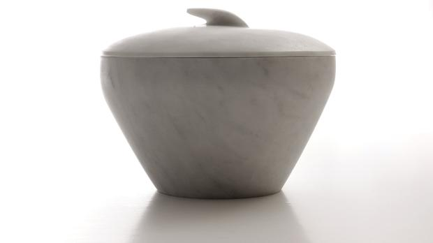 Eve bowl and lid.