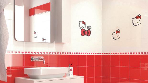 Hello Kitty Bathroom Tiles Simple Inspiration