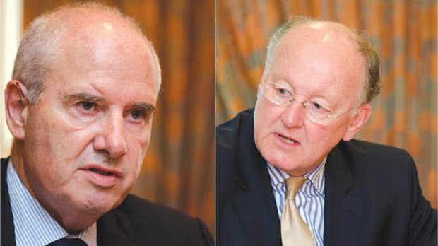 Louis Farrugia (left) and Peter Davies. Photos: Alan Carville