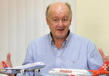 Air Malta CEO Peter Davies. Photo: Chris Sant Fournier