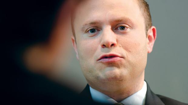 "Joseph Muscat:""I'm not underestimating the Nationalist Party."" Photo: Alan Carville"