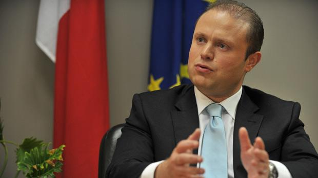 "Joseph Muscat: ""When I delegate a task, I leave things in the hands of the person responsible."" Photo: Jason Borg"