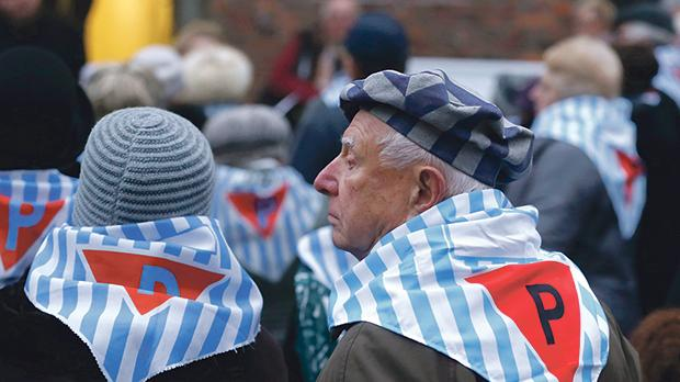 Survivors are seen at the former Nazi German concentration and extermination camp Auschwitz, during the ceremonies marking the 73rd anniversary of the liberation of the camp and International Holocaust Victims Remembrance Day, in Oswiecim, Poland, January 27. Photo: Reuters