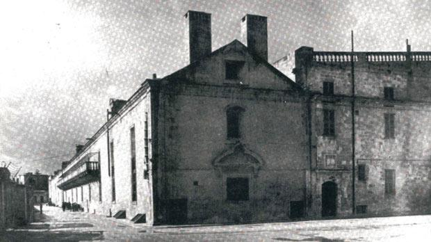 The Holy Infirmary in Valletta, where autopsies were performed in the 18th century.