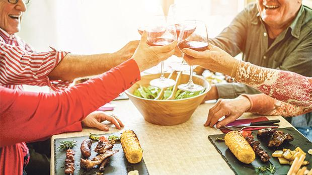 Quite apart from the food on the table, culture and family have a protective function.