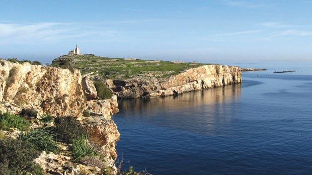 St Paul's Islands seen from Selmun Heights.