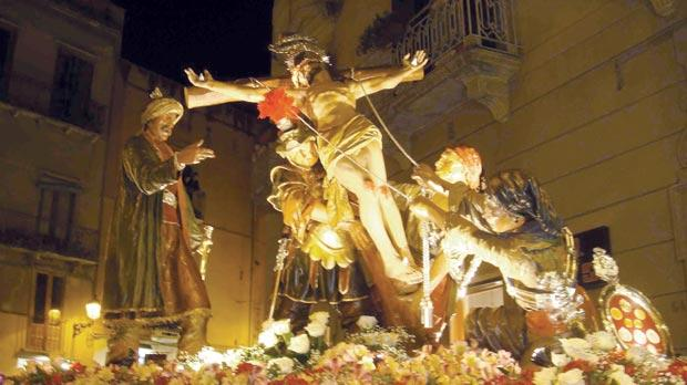 Trapani, Sicily: the Crucifixion.