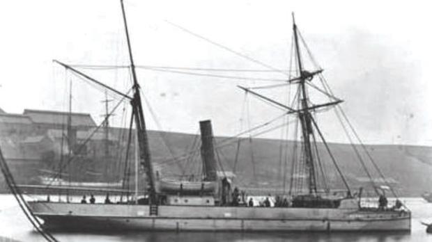Alpha-class gunboat.