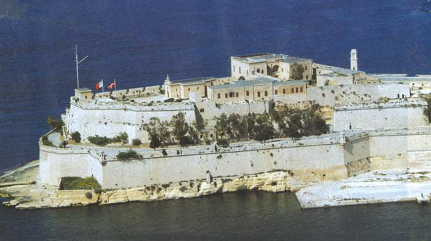 Castrum Maris (Fort St Angelo), the focal point of Malta's early European connections.