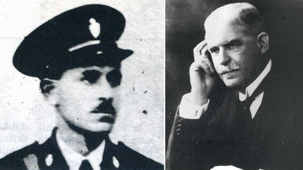 Inspector Carol Saliba. Right: Lord Strickland was prime minister of Malta from 1927 to 1930.