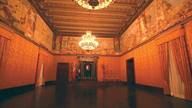 The Grandmasters' Palace.