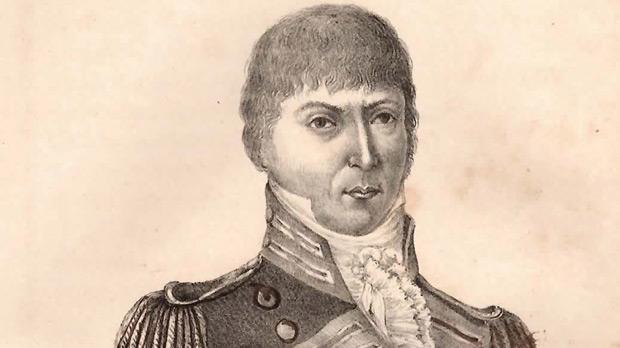 L'ahhar Gvernatur ta Ghaudex (Gozo's last Governor) Filippo Castagna.
