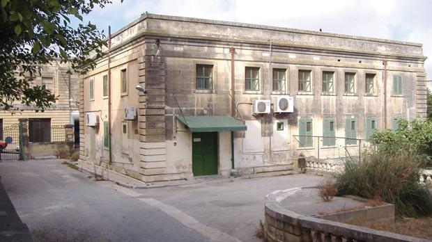 The mortuary of Mater Dei Hospital.